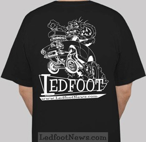Ledfoot t-Shirt large